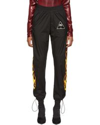 Palm Angels - Black Palms And Flames Lounge Pants - Lyst