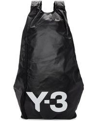 Y-3 - Sac a dos noir Yohji II - Lyst