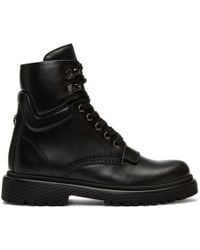 Moncler - Black Patty Ankle Boots - Lyst