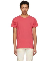 John Elliott - Red Classic Crewneck T-shirt - Lyst