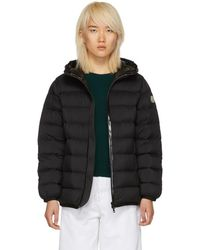 Moncler - Black Down Goeland Jacket - Lyst