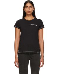 Rag & Bone - Black Yin Yang T-shirt - Lyst