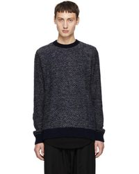 Stephan Schneider - Navy And White Striped Sweater - Lyst