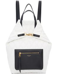 Givenchy - White Small Duo Backpack - Lyst