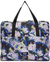 MSGM - Multicolor Eastpak Edition Flowers Tote Bag - Lyst