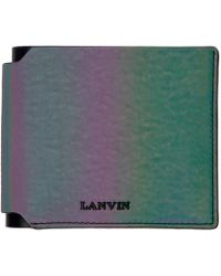 Lanvin - Multicolor Iridescent Wallet - Lyst