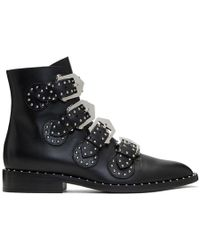 Givenchy - Black Elegant Line Boots - Lyst
