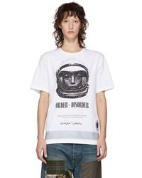 Undercover - White Astronautics Agency T-shirt - Lyst