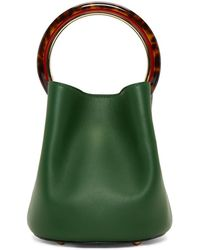 Marni - Green Mini Pannier Bag - Lyst
