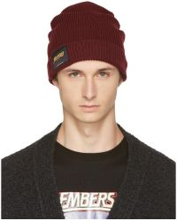 Stella McCartney - Burgundy 'members And Non Members Only' Beanie - Lyst