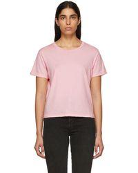 AMO - Pink Classic T-shirt - Lyst