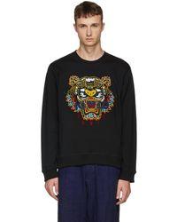 KENZO - Black Dragon Tiger Sweatshirt - Lyst
