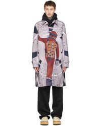 Undercover - Purple Astronaut Coat - Lyst