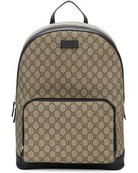 c0ac516a3d37 Gucci Kid s Gg Supreme Canvas Trolley Backpack in Natural for Men - Lyst
