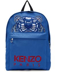 KENZO - Blue Tiger Capsule Backpack - Lyst