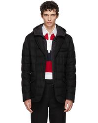 Moncler - Black Vernoux Down Jacket - Lyst