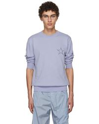 Givenchy - Blue Embroidered Star Jumper - Lyst
