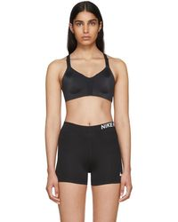 Nike - Black Rival Sports Bra - Lyst