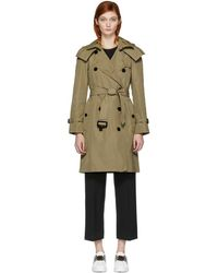 Burberry - Tan Amberford Trench Coat - Lyst