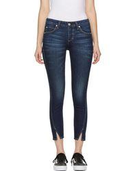 AMO - Blue Twist Jeans - Lyst