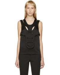 Christopher Kane - Black His/her Tank Top - Lyst