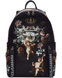 Dolce & Gabbana - Angels Printed Backpack - Lyst