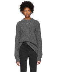 Tibi - Grey Easy Cozy Sweater - Lyst