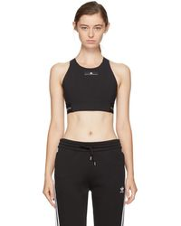adidas By Stella McCartney - Black Climachill Bra - Lyst