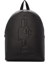 BOSS - Black Jeremyville Edition Rabbit Backpack - Lyst