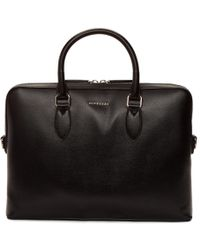 Burberry - Black Barrow Patchwork Briefcase - Lyst