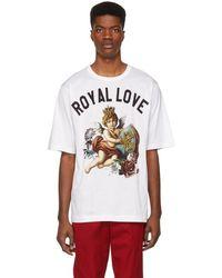 Dolce & Gabbana - White Royal Love T-shirt - Lyst