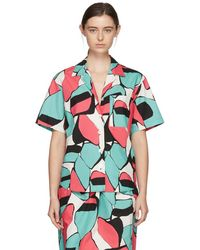 Marc Jacobs - Pink Abstract Shirt - Lyst