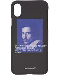 Off-White c/o Virgil Abloh - Black Bernini Iphone 8 Case - Lyst