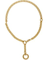 Laura Lombardi - Gold Rina Necklace - Lyst