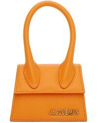 Jacquemus Orange Le Chiquito Bag