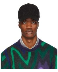 PS by Paul Smith - Black Wool Speckled Cap - Lyst