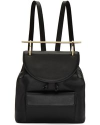M2malletier | Black Leather Backpack | Lyst