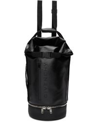 Givenchy - Black Large Jaw Backpack - Lyst