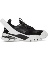 CALVIN KLEIN 205W39NYC - Black And White Carla Sneakers - Lyst