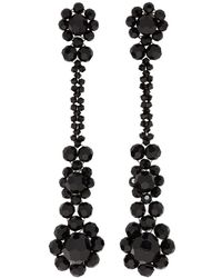 Simone Rocha - Black Victorian Drop Earrings - Lyst