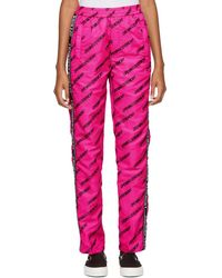Opening Ceremony - Pink Nylon Warm Up Lounge Pants - Lyst