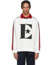 Gucci - White Elton John Logo Sweatshirt - Lyst