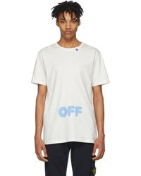 Off-White c/o Virgil Abloh - Blurred T-shirt - Lyst