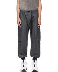 Stella McCartney - Grey Wool Cargo Pants - Lyst