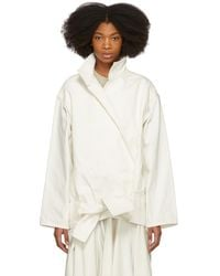 Lemaire - Off-white Vareuse Jacket - Lyst