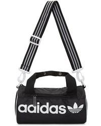 bf776b110f9a adidas Originals - Black Small Santiago Duffle Bag - Lyst