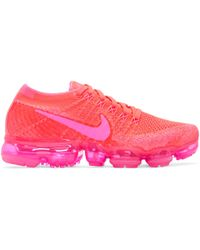Nike | Pink Air Vapormax Flyknit Trainers | Lyst