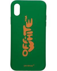 Off-White c/o Virgil Abloh - Green Bubble Font Iphone X Case - Lyst