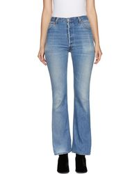RE/DONE - Indigo Levis Edition High-rise Bootcut Jeans - Lyst