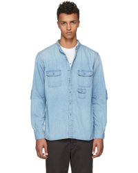 Nonnative - Indigo Denim Gardener Shirt - Lyst